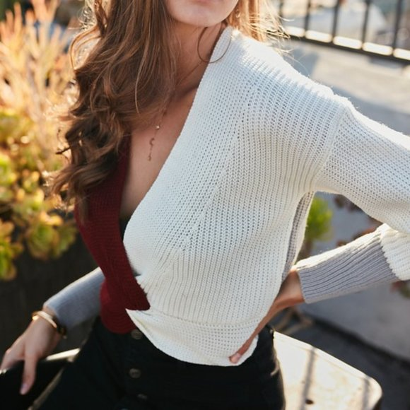 JACADI Girl/'s Arcade Mocha Round Neck Sweater Size 4 Years NWT $44